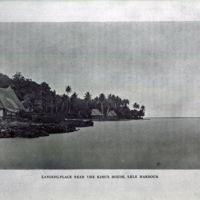 Landing Place near the King's House, Lele Harbour