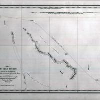 Carte des Iles Bonham (Archipel des Iles Marshall)