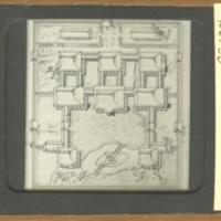 Block Plan of Shinden-zukuri Style