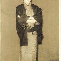 Kaizawa 1-046: Kabuki actor - Onoe, Shoroku II,  尾上, 松緑…