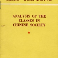 Analysis of the classes in Chinese society.