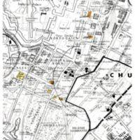 Kaizawa doc 35: Map of the Chiyoda-ku district in Tokyo