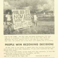 People win rezoning decision!
