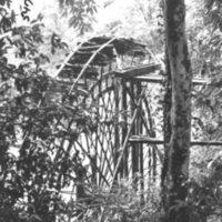 547. Below St. T [St. Theresa Chapel ?] : waterwheel