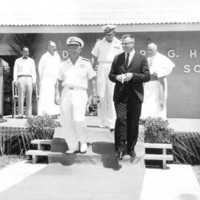 Turnover of Saipan from Navy to civilian T.T.…
