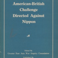 American-British challenge directed against Nippon