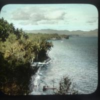 Unidentified coastline