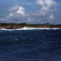 War debris - rusting. Anguar [Ngeaur, Palau] coastline.…