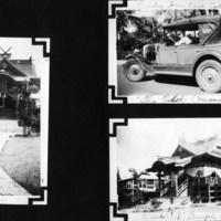 Page 27: Japanese Buddhist Temple & Lady in a Car