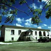 Palau Legislature building. (S-4070a.14).