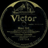 Maui Girl (Girl from the Island of Maui)