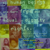 All Human Beings are Born Free and Equal in Dignity and…