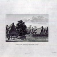 Maisons des Habitants de L' ile Oualan (Archipel des…