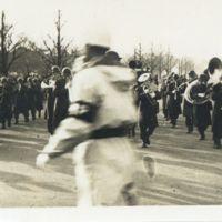 Kaizawa 3-004: US Military marching band with brass…