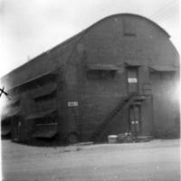 Quonset hut. B O Q 9 -ComMar. June 1949. Guam, M.I.  x…