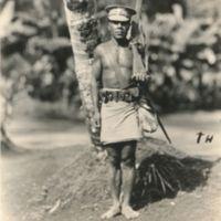 Mainland New Guinea policeman