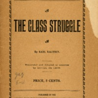 Class struggle. Translated and adapted to America by…