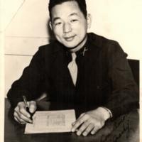 Spark Matsunaga as executive officer, Company D. 100th…