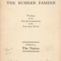 American report on the Russian famine: findings of the…