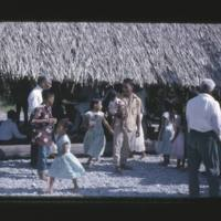 Kilians lining[sic] up for the distribution of bread at…