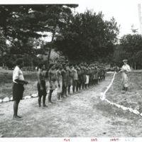 Natives are recruited at Kirakira, San Cristobal Is.,…