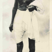 Gandhi (Full Length Portrait)