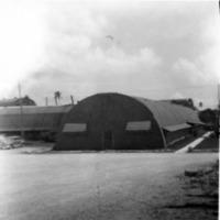 Mess Hall - ComMar. June 1949. Guam, M.I. x front door.