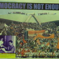 Democracy is not Enough! We need Gender Justice!