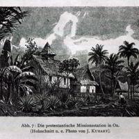 Abb. 7: Die protestantische Missionsstation in Oa.