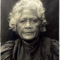 Elderly Hawaiian woman