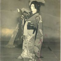 Kaizawa 3-040: Kabuki actor Onoe, Baiko VII 尾上, 梅幸 7世…