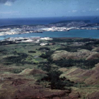Apra Harbor. Guam. 5 Feb. 1950