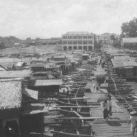 026. Boat bridge, Wuchow