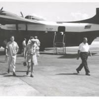 Special trip to Ronlap 1957 by Sec'y or Interior Seaton…