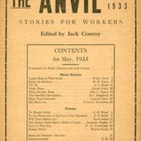 Anvil.  (3 v., 1933-1935)