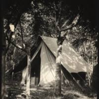 Photographers (?) tent Mataveri