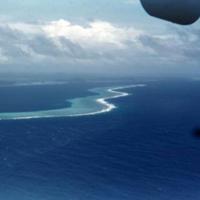 View from plane, Yap to Angaur [Ngeaur, Palau]. 19 Dec.…