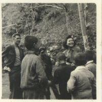Kaizawa 2-077: Group photo of Midori Kawaguchi, an…