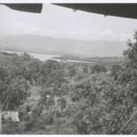 View from my tent. N.G. '43