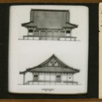 Elevations of Kwanshin-ji Hondo