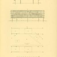 Plan und innere Einrichtung eines rukschen Ut.