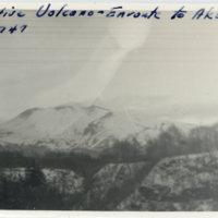 A volcano mountain enroute to Akakura Ski Resourt,…