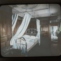 1st class bed room cabin of Ocean Liner Ship: 一等船客ノ寝室