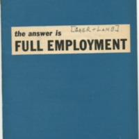 Answer is full employment.