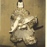 Kaizawa 1-054: Kabuki actor - Ichikawa, Somegoro V, 市川,…