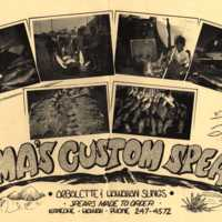 Hama's custom spears
