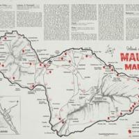 Island of Maui map