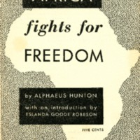 Africa fights for freedom.
