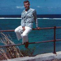 E.E. Crawford. Asan, Guam. Dec. 1949