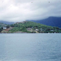 Kaneohe from Coconut Island. July 1951